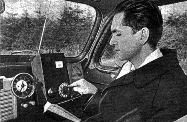 Куприянович с ЛК-1 в автомобиле